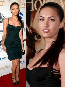 Megan Fox in Dolce & Gabbana Corset Dress