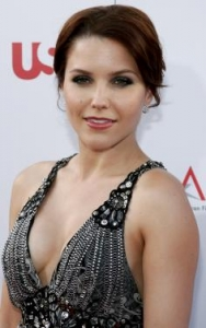 Sophia Bush Polished Updo