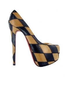 Christian Louboutin Daffodile Two-Tone Python Pumps