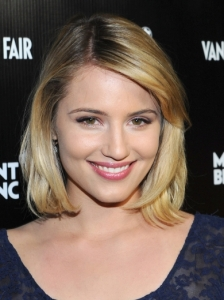 Dianna Agron's Blonde Bob Hairstyle