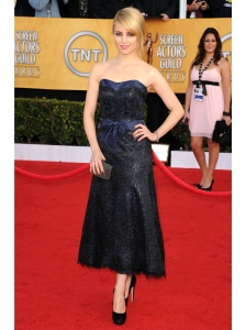Dianna Agron in Chanel