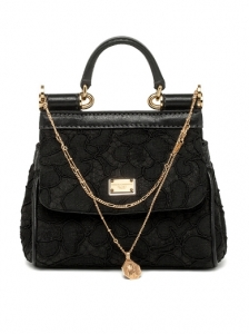 Dolce and Gabbana Medium Macrame Bag