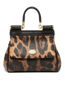 Dolce and Gabbana Small Animal Print Bag