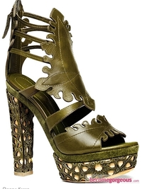 Donna Karan Spring Summer 2011 Shoes