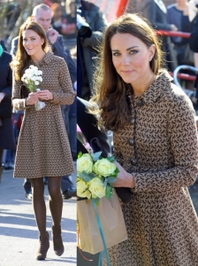 Duchess Kate in Orla Kiely Birdie Shirt Dress