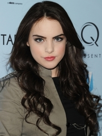 Elizabeth Gillies Long Curly Hairstyle