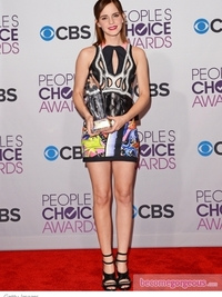 Emma Watson's Dress at 2013 People's Choice Awards