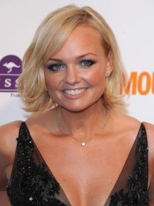 Emma Bunton Chin Length Bob Haircut