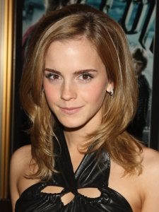 Emma Watson's Long Layered Hairstyle