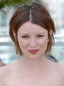 Emily Browning Short Bob Hairstyle 2011 Cannes