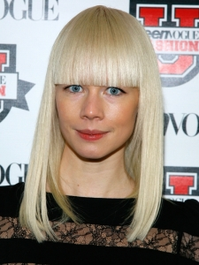 Erin Fetherston Block Bangs Hairstyle