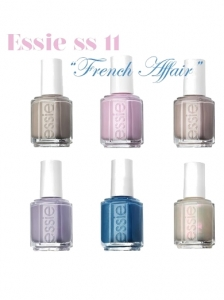 Essie French Affair Nail Polish Collection