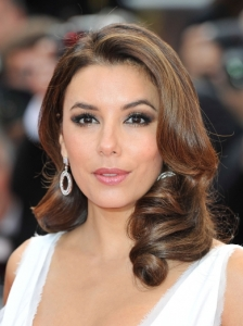 Eva Longoria's Brushed Out Curls