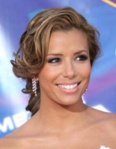 Eva Longoria Stylish Updo