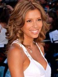Eva Longoria with Blonde Highlights
