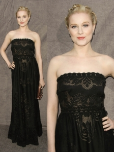Evan Rachel Wood in Valentino Gown