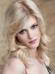 Medium Blonde Layered Hair Style