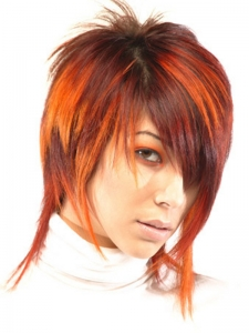Dapper Red Hair Highlights