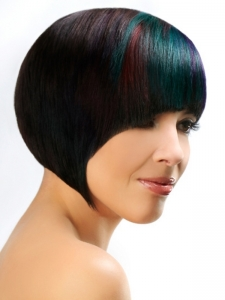 Stylish Multi-Tonal Hair Color Idea