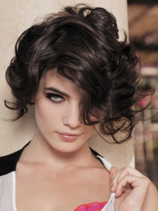 Hot Short Layered Haircut