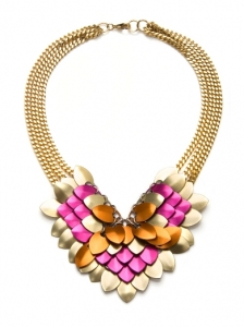 Fallon Colorful Statement Necklace