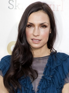 Famke Janssen's Hairstyle at 2013 Critics Choice Awards