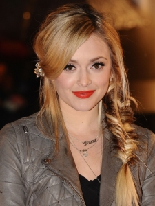 Fearne Cotton Hairstyle at the 2010 Brit Awards