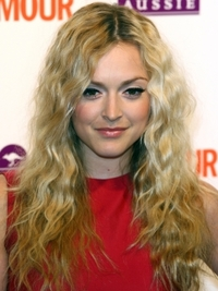 Fearne Cotton Crimped Wavy Hairstyle