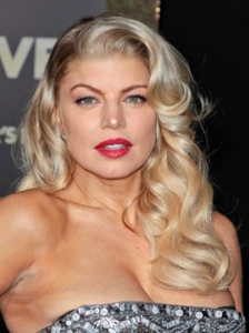Fergie Old Hollywood Curls