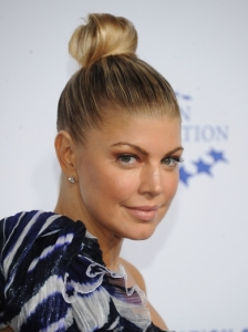 Fergie Sleek Top Knot Bun