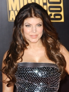 Fergie Big Curly Hairstyle