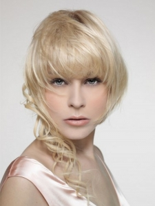 Medium Asymmetric Hair Style