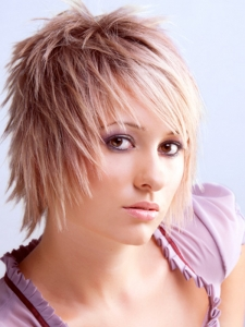 Glam Choppy Layered Haircut