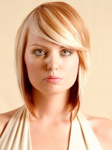 Soft Layered Bob Haircut