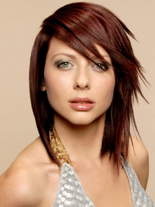 Sexy Medium Layered Haircut