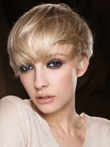 Close-Cropped Short Hair Style