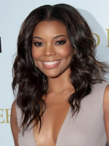 Gabrielle Union Wavy Hairstyle