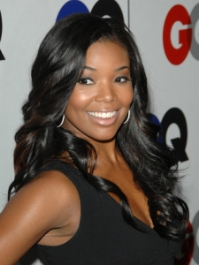 Gabrielle Union Long Glossy Curls
