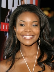 Gabrielle Union Sassy Wavy Hairstyle