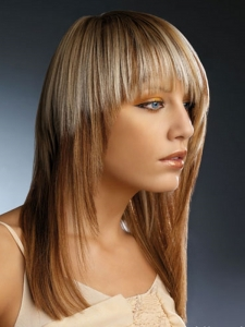 Stylish Two Tone Hair Color