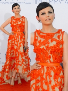 Ginnifer Goodwin in Monique Lhuillier Dress