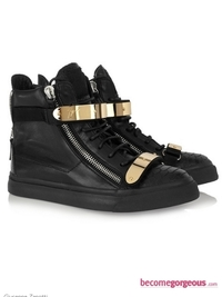 Stylish High-Top Sneakers 2011