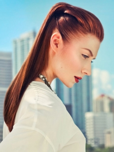Fabulous New Ponytail Hairstyle