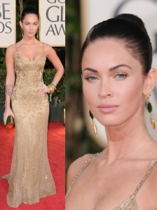Megan Fox in Ralph Lauren Gown