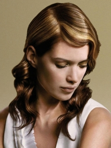 Chic Honey Hair Highlights