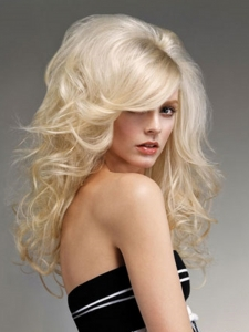 Bouffant Blonde Hair Style