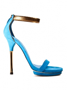 Gucci Sea Blue Sandals