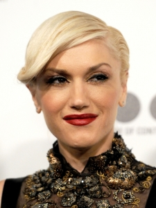 Gwen Stefani Slicked Down Hairstyle