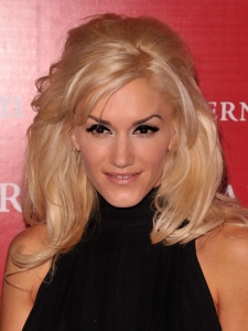 Gwen Stefani Long Layered Hairstyle