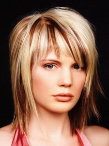 Stylish Blonde Hair Highlights